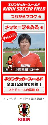 キリンサッカーフィールドブログパーツ