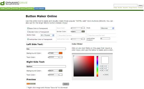 Button Maker Online